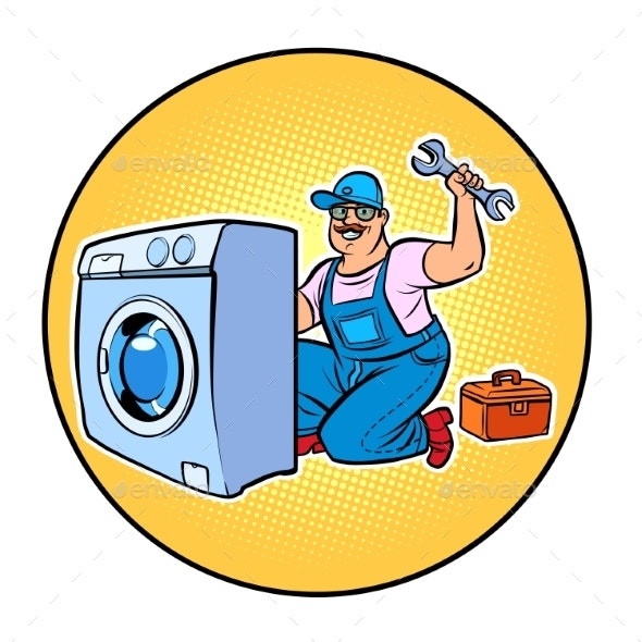 Master Repair Washing Machine - Services Commercial / Shopping