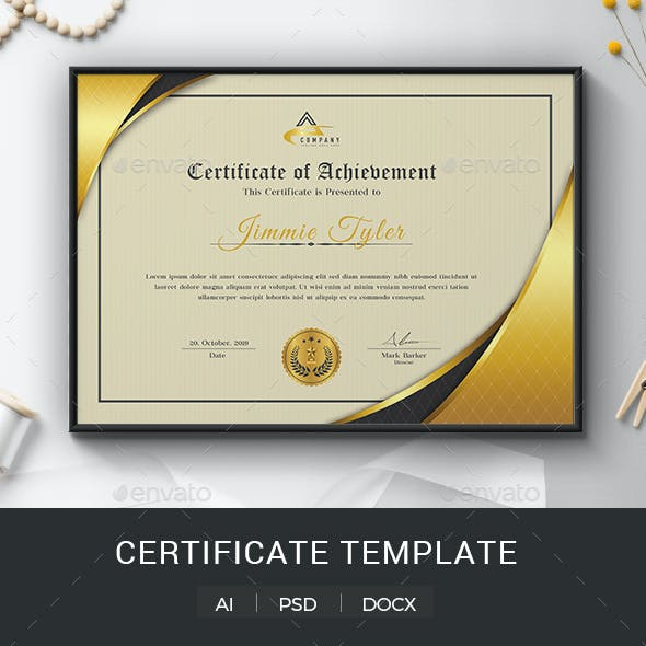 Certificate Word
