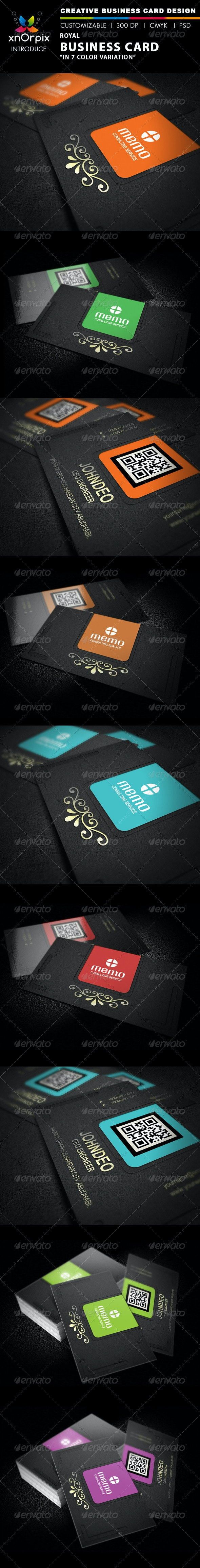Royal Business Card - Business Cards Print Templates