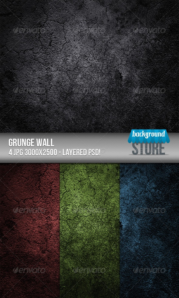 Grunge Wall Background - Urban Backgrounds