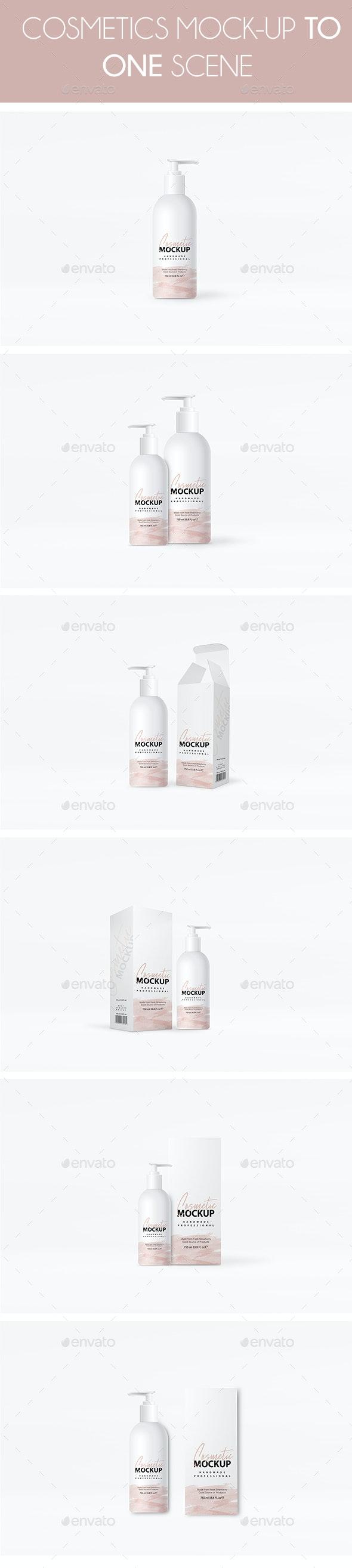 Cosmatics Mockup - Beauty Packaging