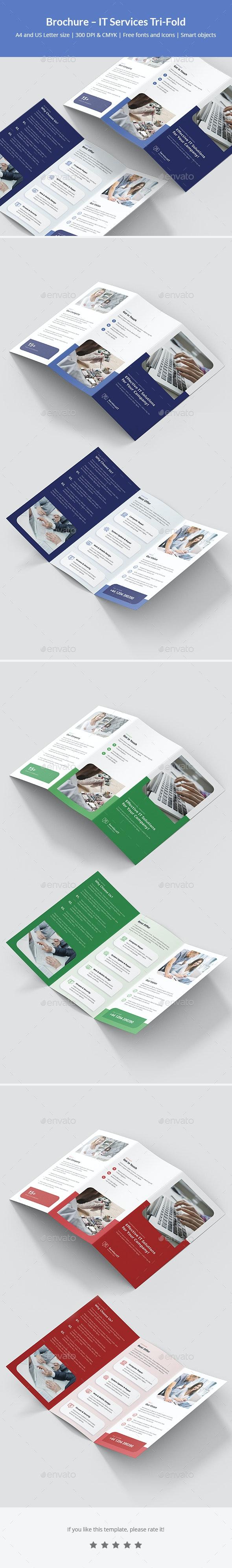 Brochure – IT Services Tri-Fold - Corporate Brochures
