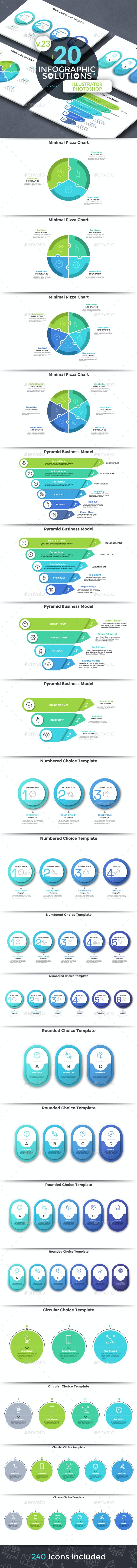 Infographic Solutions. Part 23 - Infographics