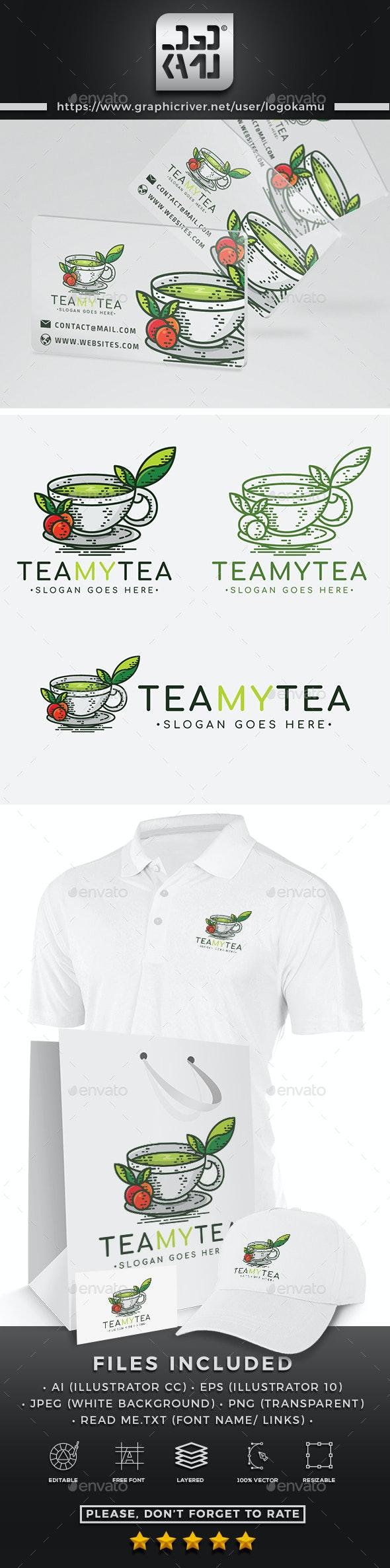 Tea Shop Logo - Food Logo Templates