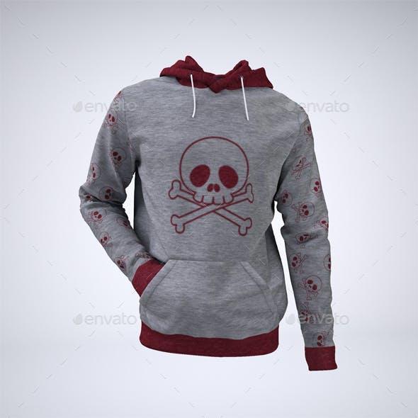 Hoodie Sweatshirt Mock-Up