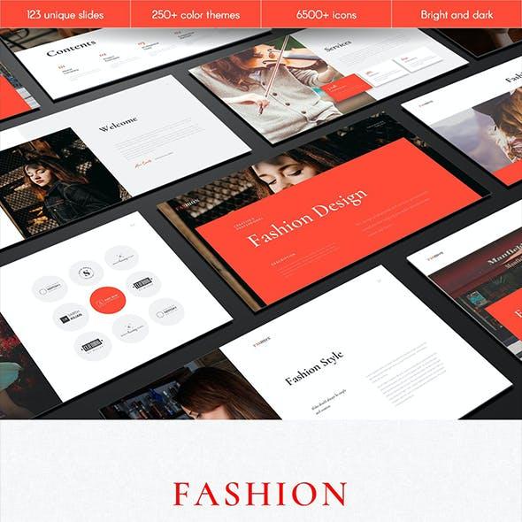 Fashion Multipurpose PowerPoint Template