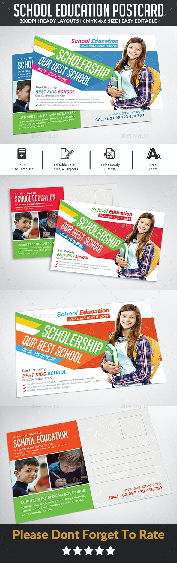 Template flyer écoles et formations 2
