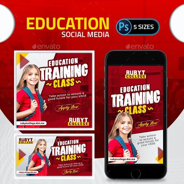 Education Social Media Pack