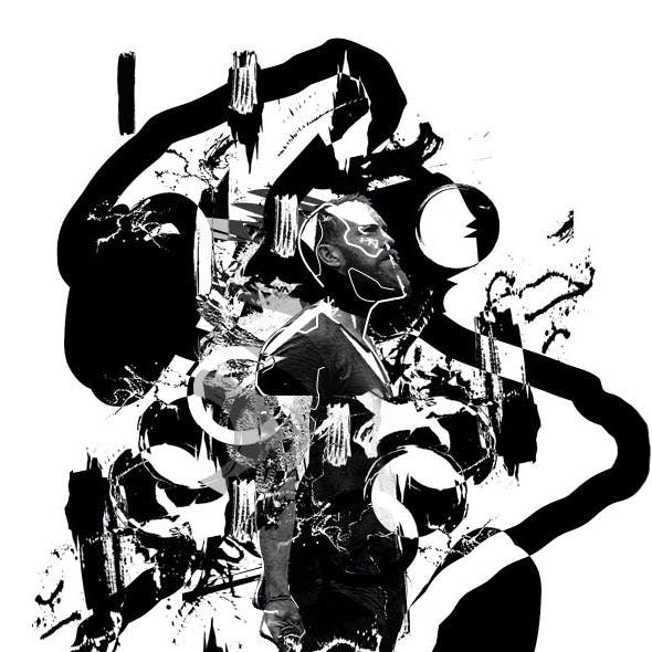 Abstract Ink Poster Photoshop Action