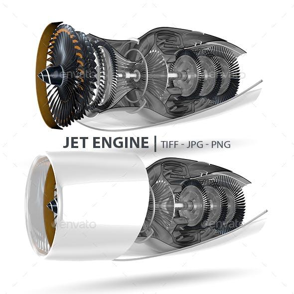 Realistic Jet Engine