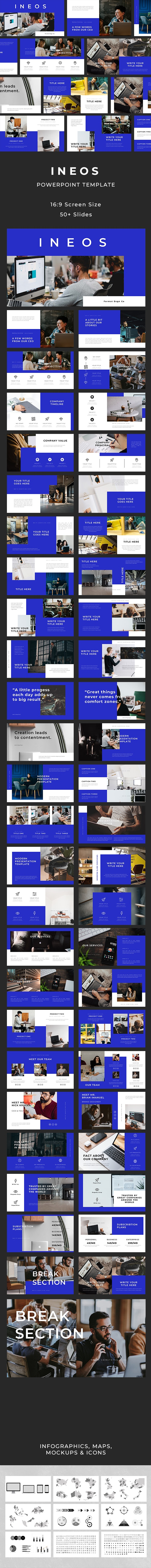 Ineos PowerPoint Template - Business PowerPoint Templates