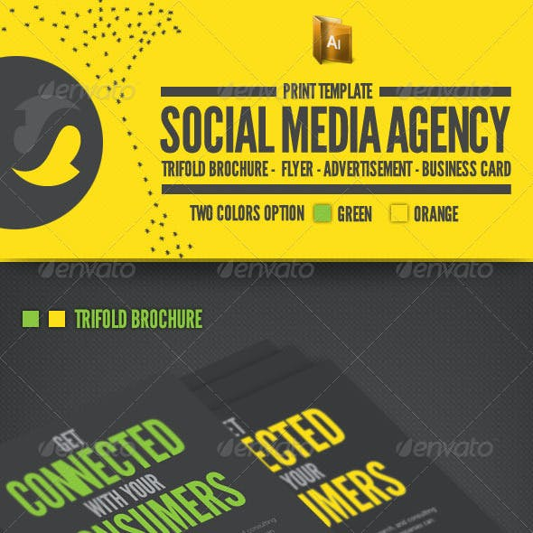 Social Media Print Template Packages