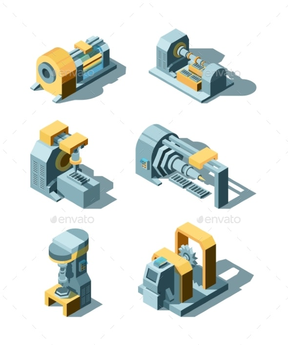 Heavy Industry Working Factory Line Metal - Man-made Objects Objects