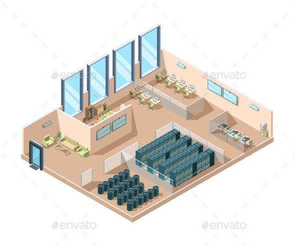 Data Center - Buildings Objects