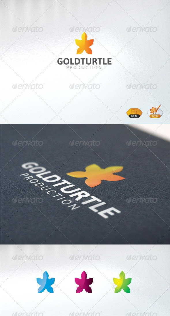 GoldTurtle - Abstract Logo Templates
