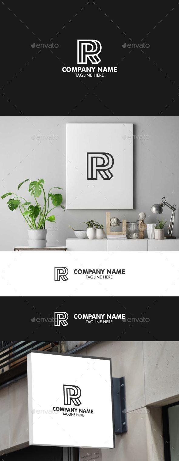 LETTER R - Letters Logo Templates