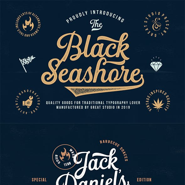 Vintage Fonts from GraphicRiver