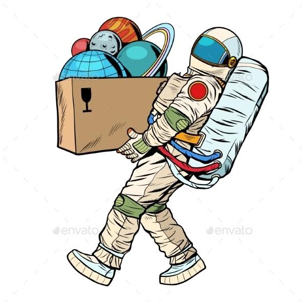 Space Exploration Concept - Travel Conceptual