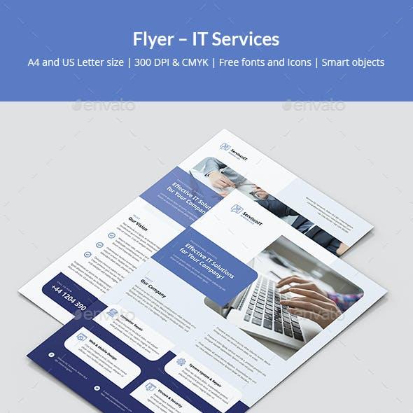 Flyer – IT Services