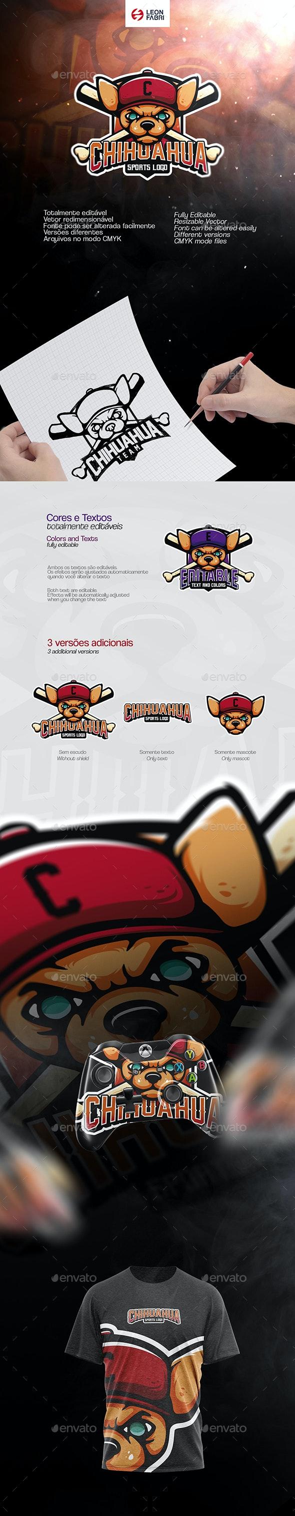 Chihuahua Sports Logo - Sports Logo Templates