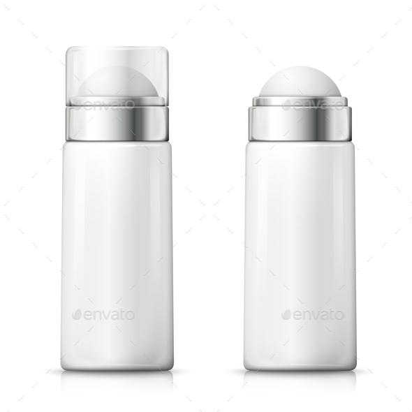 Vector Deodorant Bottles