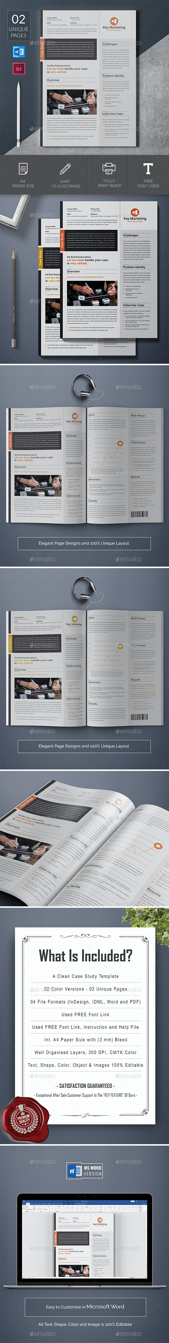 Case Study Word - Corporate Brochures