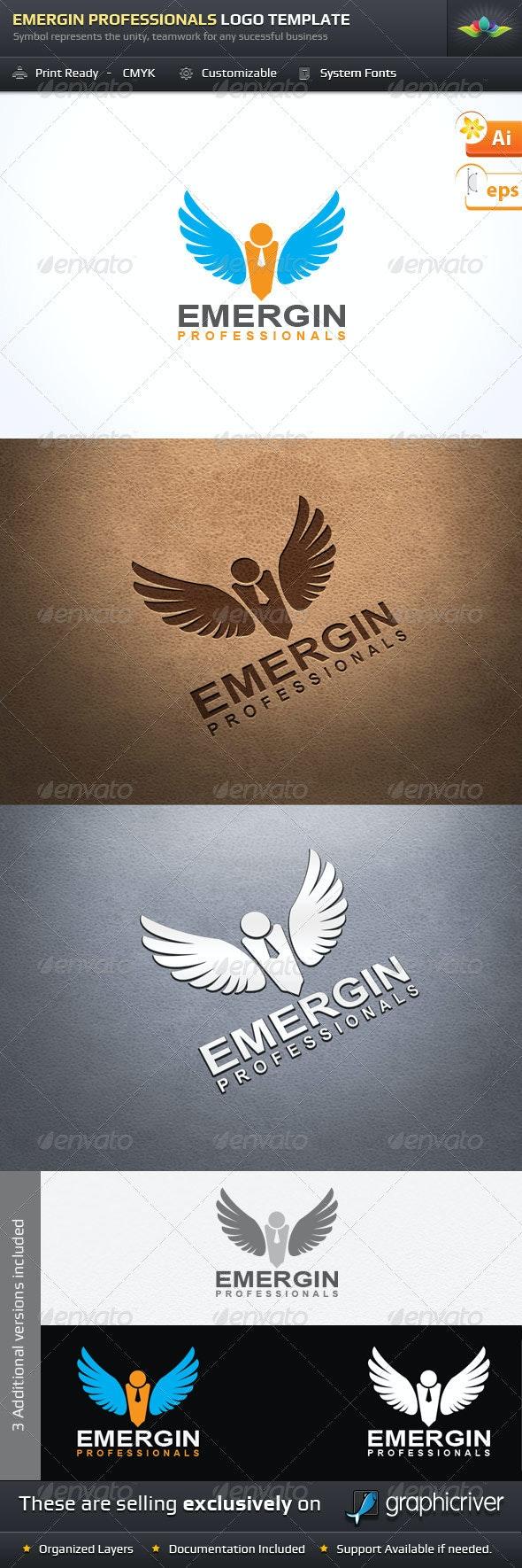 Emergin Professionals Logo Template - Symbols Logo Templates