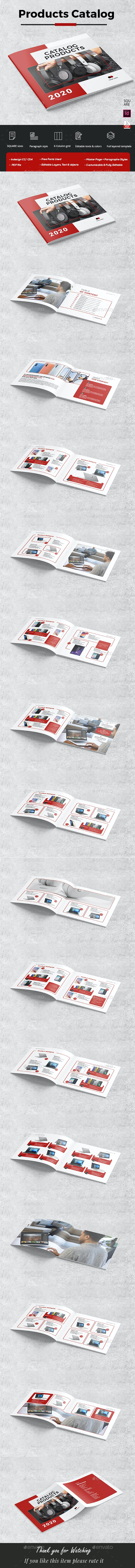 Square Catalog Products