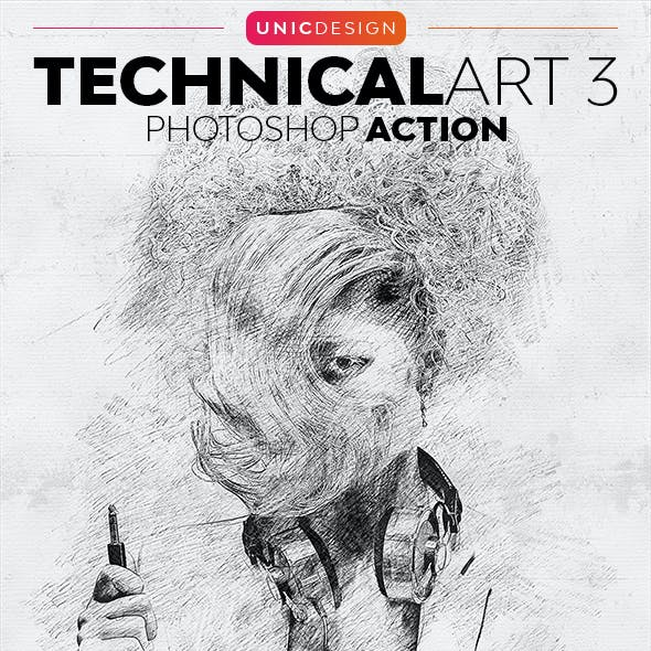 TechnicalArt 3 Photoshop Action