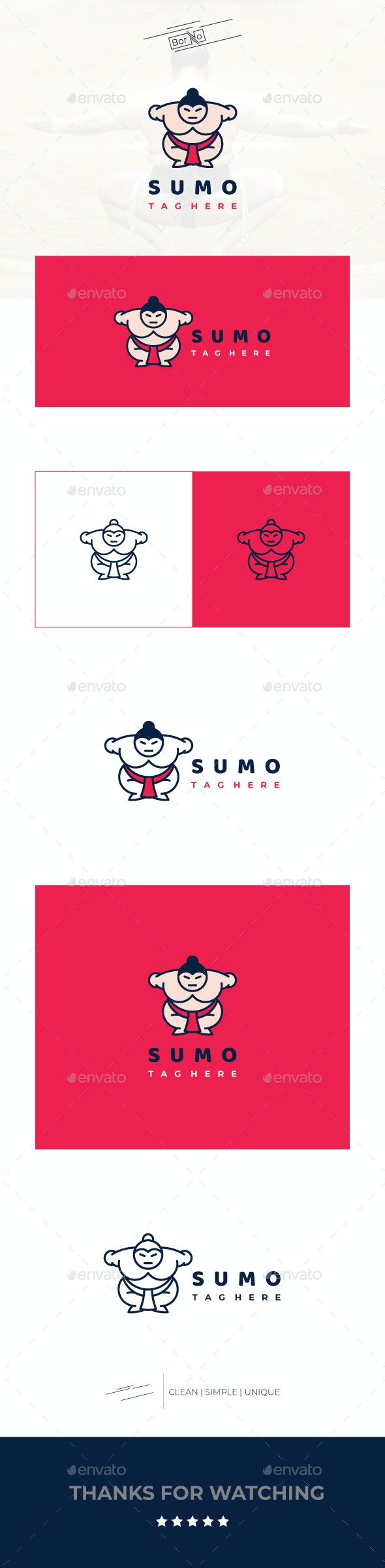 Sumo - Sports Logo Templates