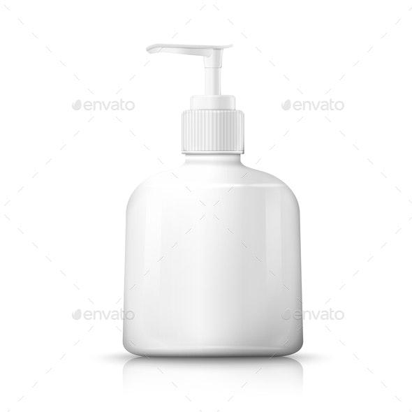 Vector Bottle Pump - Miscellaneous Vectors