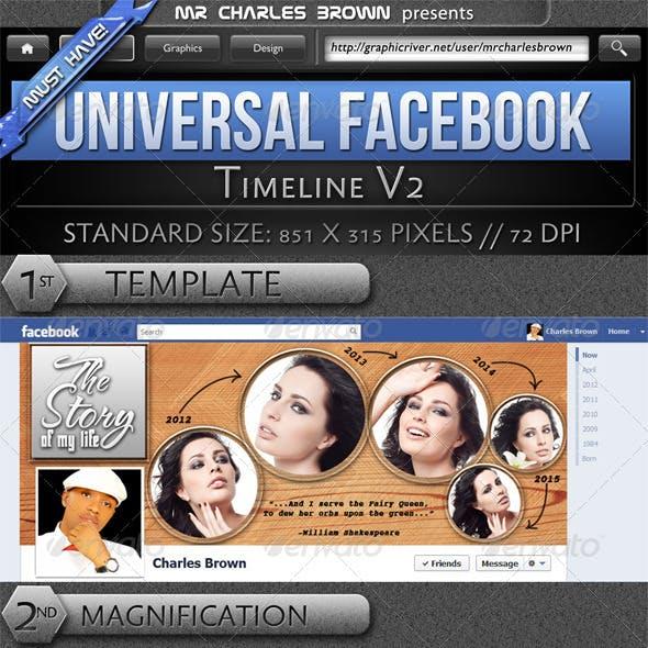 Universal Facebook Timeline v2
