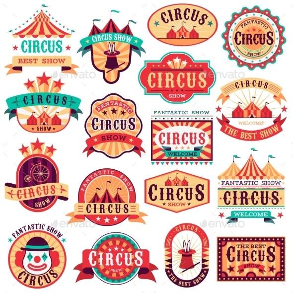 Circus Emblems