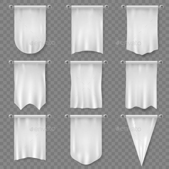 White Pennant - Miscellaneous Vectors