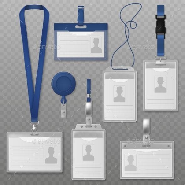 ID Badges - Miscellaneous Vectors
