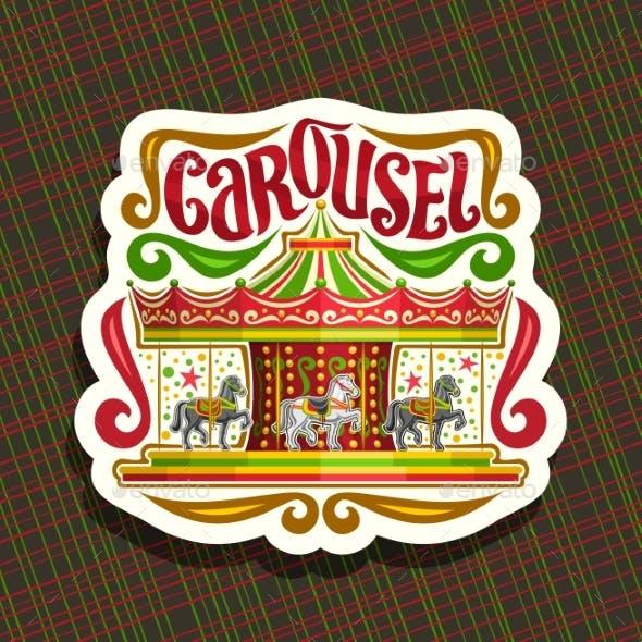 Vector Logo for Children's Сarousel