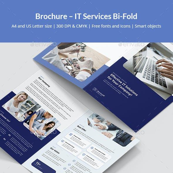 Brochure – IT Services Bi-Fold