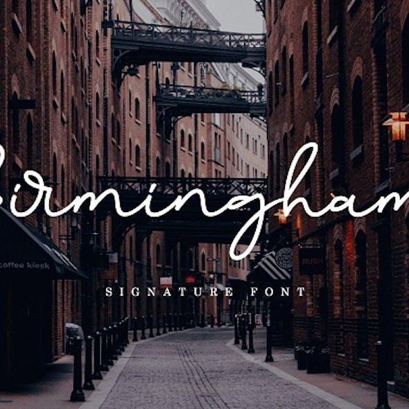 Birmingham Signature