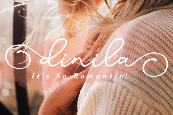 Dinila - Handwriting Fonts
