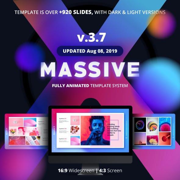 Massive X Presentation Template v.3.7