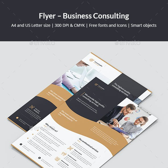Flyer – Business Consulting