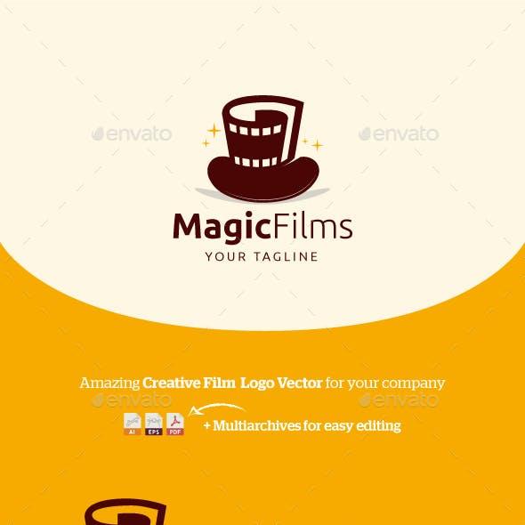 MagicFilms Logo Vector