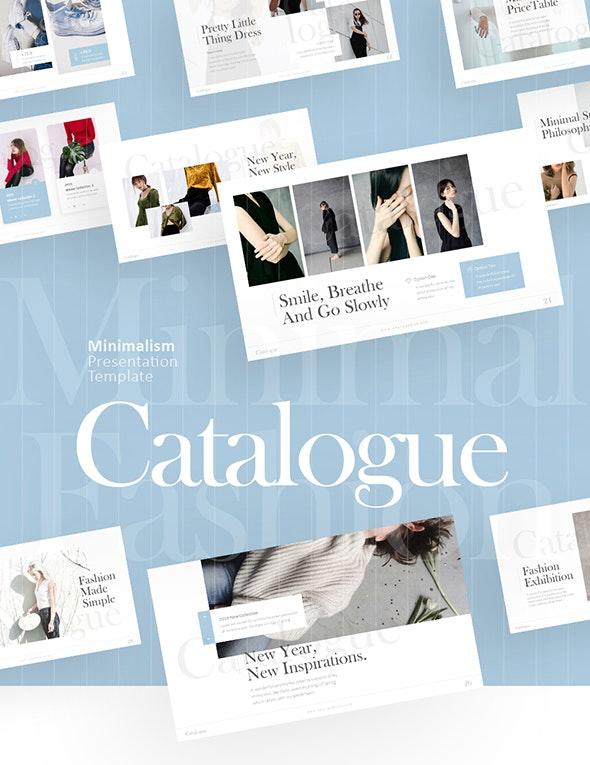 Catalogue - Fashion Keynote Template - Keynote Templates Presentation Templates
