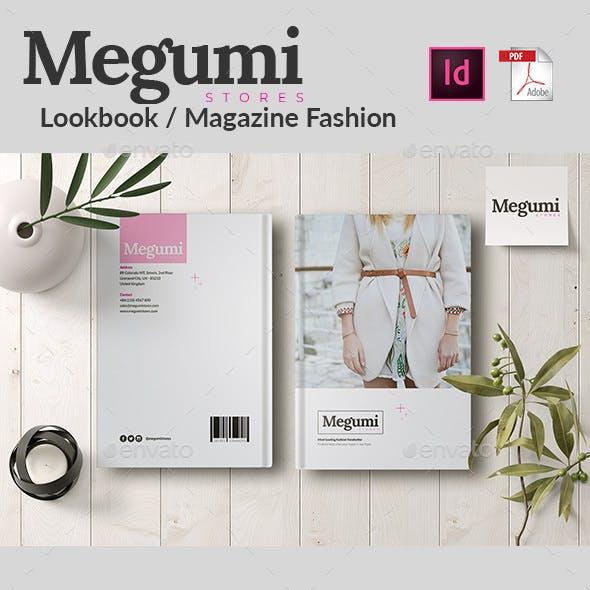 Megumi   Lookbook / Magazine Fashion