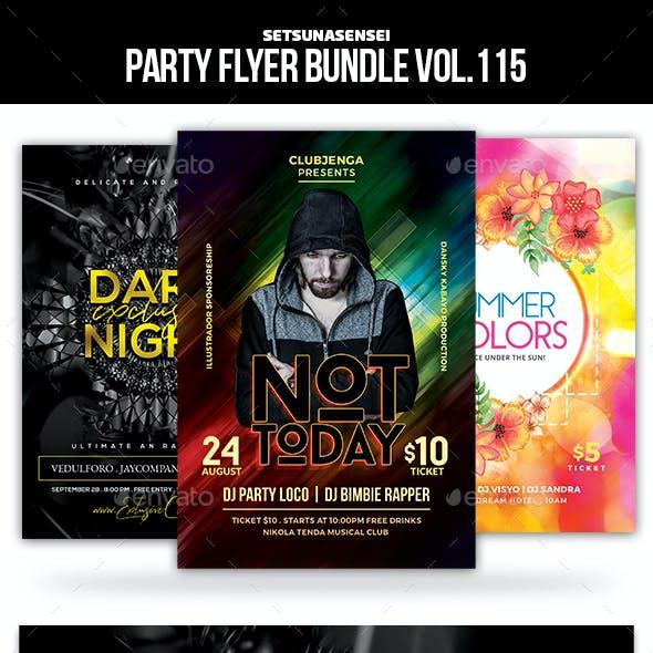 Party Flyer Bundle Vol.115
