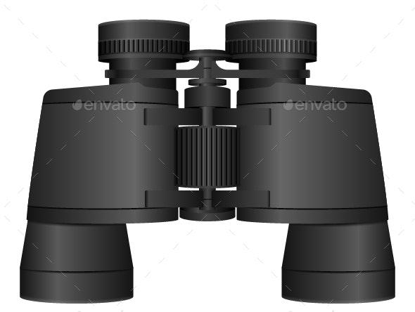 Binoculars - Man-made Objects Objects