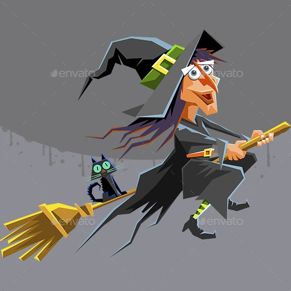 Witch - Monsters Characters