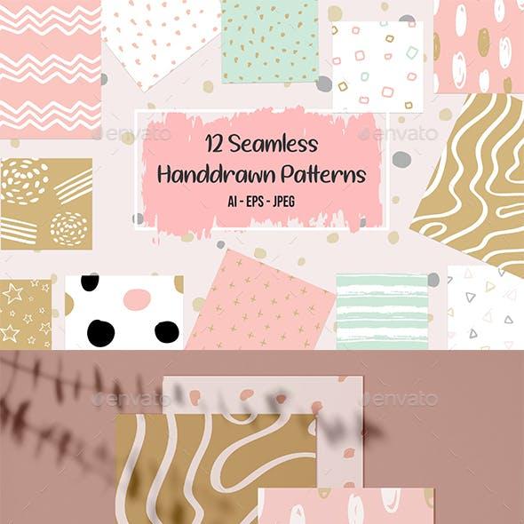 12 Seamless Patterns