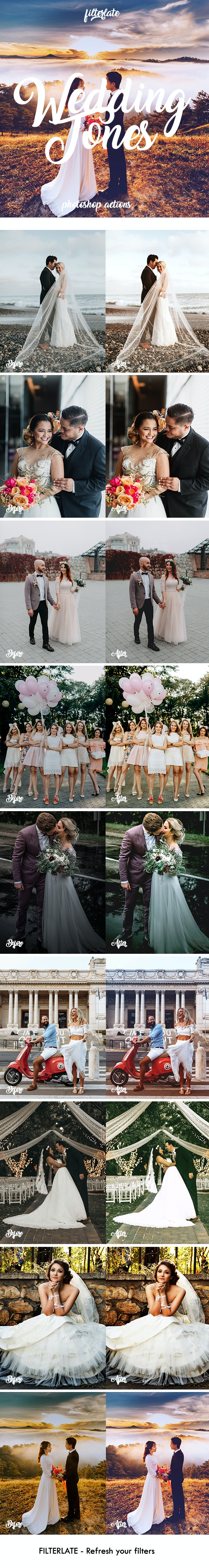Wedding Tones - Photo Effects Actions