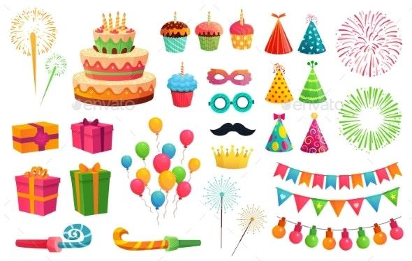 Cartoon Party Kit - Birthdays Seasons/Holidays